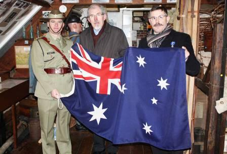 1 Fromelles 7 Museum and flag sml