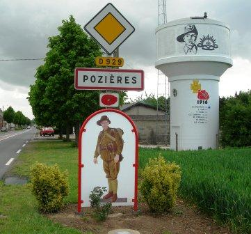 Poziers Town sign & water tower_website