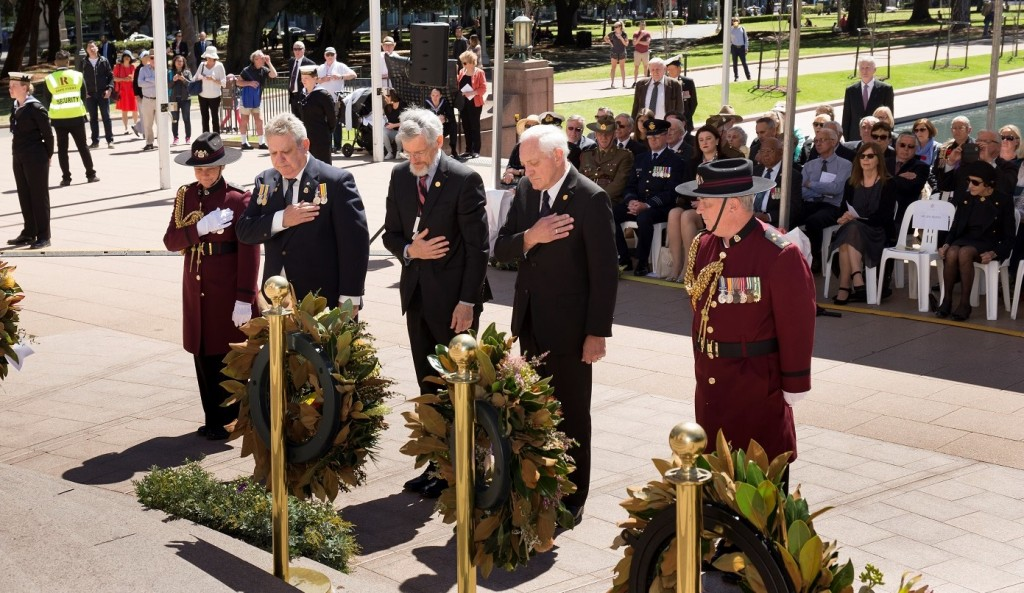 ANZ_YPRES_2017_262c Wreath laying - 3 FFFAIF Presidents Russ Curley, Jim Munro & Craig Laffin