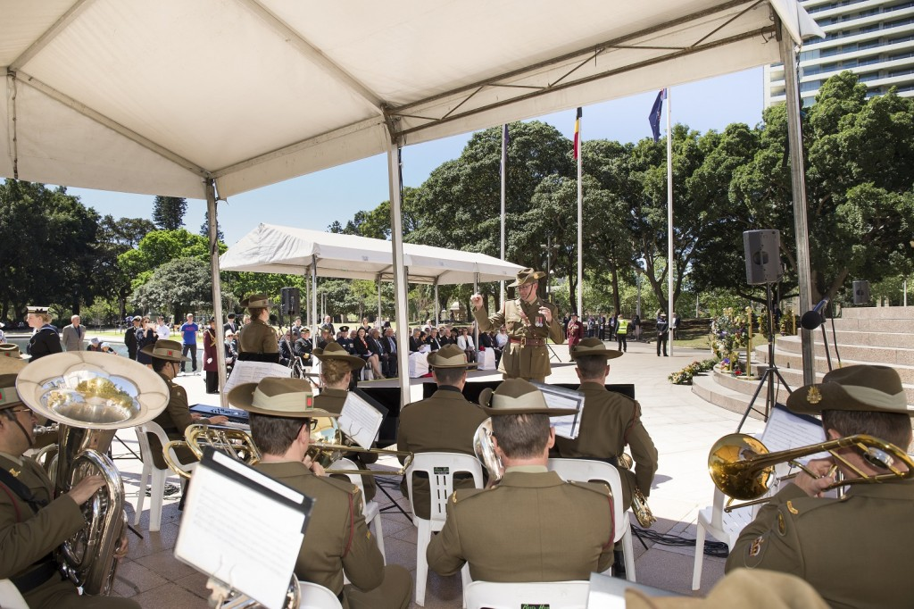 ANZ_YPRES_2017_326 Oh Passchendaele sung by Amelia Johnson with the Australian Army Band Sydney