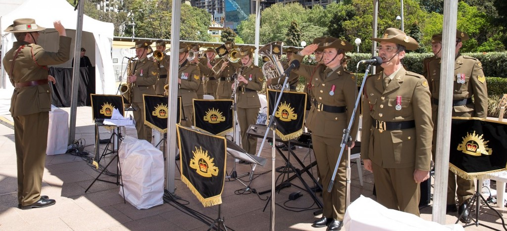 ANZ_YPRES_2017_399 Australian Army Band Sydney Australian Nation Anthem led by Jeff Camilleri