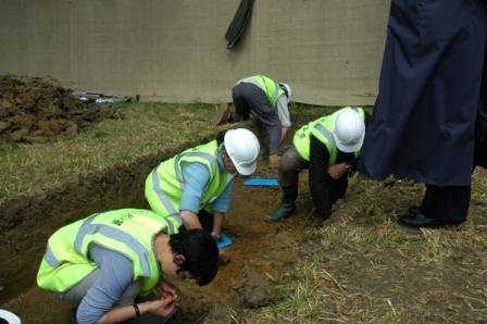 Fromelles-11-Day 1 of preliminary excavation