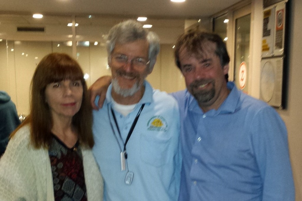 Tony Pollard, Jim Munro, Jill Hayes at Fromelles Family Gathering cropped