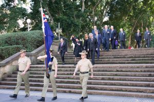 2016 07 19 Fromelles Day Sydney_0086 Solemn procession small cropped