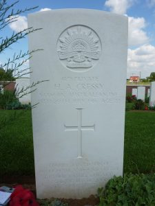 Fromelles II.C.11 CRESSY Priv H A #4179 54 Bn 2010.07.30 P1070880 reduced