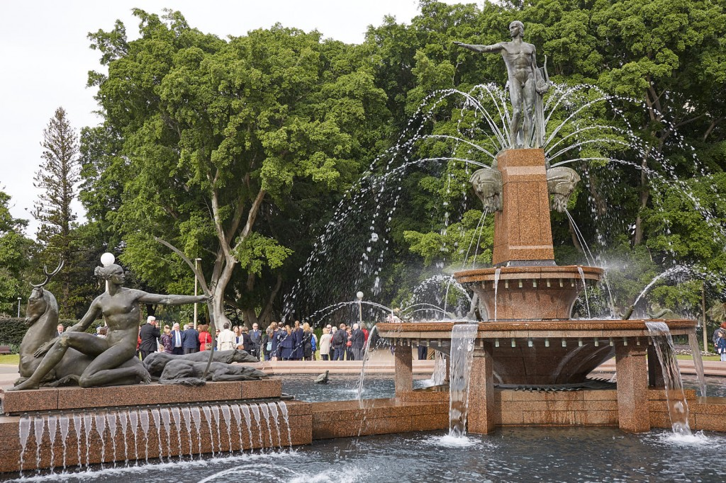 ANZ_Fromelles__2018_003 The Archibald Fountain celebrates the association between France and Australia