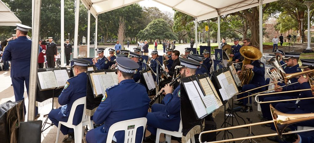 ANZ_Fromelles__2018_308 NSW Police Band